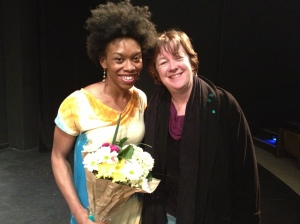 Angela Tucker and I after yesterday's showing of Closure
