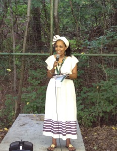 Mekdes Bekele, founder of Ethiopian Heritage and Culture Camp